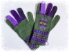 アルパカ手編み手袋 アイリス