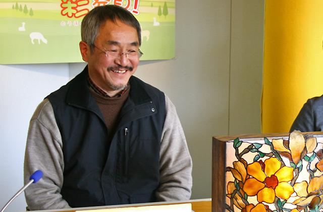 喫茶店ナジャ マスター 汐川 泰晴さん