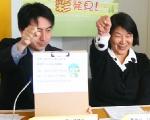 道北ツーリズム 協議会 スタッフ 寺村 裕子さんと道北ツーリズム コーディネーター 西沢 幸仁さん