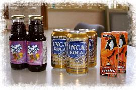 ドリンクはINCA KOLA(インカコーラ)が大人気