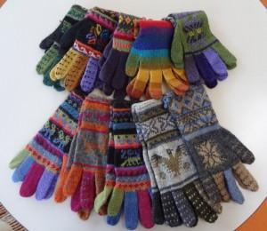カラフル~な手袋♪