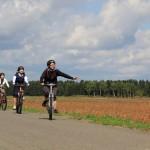 サイクリング中1