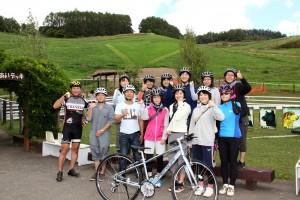 サイクリング集合写真