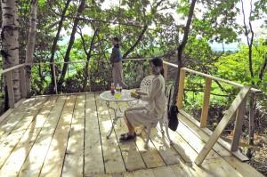 山Cafeの風景