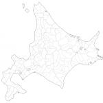 北海道白地図