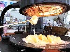 剣淵産野菜をとろーりチーズで召し上がれ!